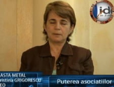 Cristina Grigorescu, ceo Kasta Metal