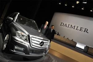 Criza auto a micsorat profitul Daimler in 2008, pana la 1,4 mld euro