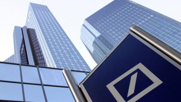 Criza loveste in Deutsche Bank: Profitul bancii, in scadere cu 76%