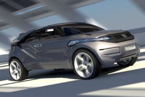 Crossover-ul Duster, primul concept car de la Dacia