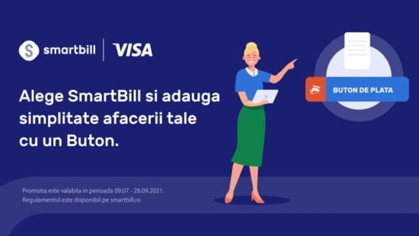Cu SmartBill și Visa adaugi simplitate afacerii tale – au mai ramas cateva zile pana la finalul promotiei!