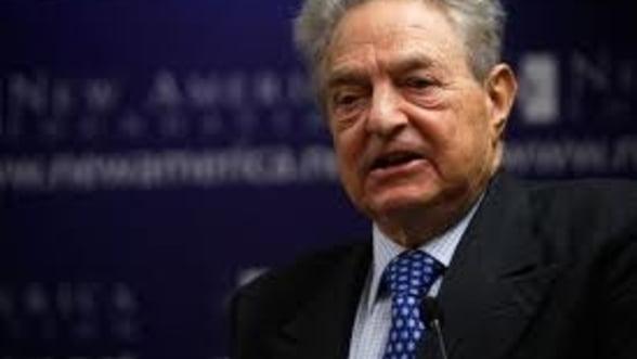 Cum a castigat Soros 1 miliard de dolari in doar doua luni