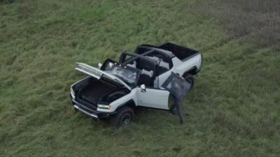 Cum arata Hummer-ul electric lansat de General Motors. Ajunge la o autonomie de aproape 500 de km si costa peste 100.000 de dolari VIDEO