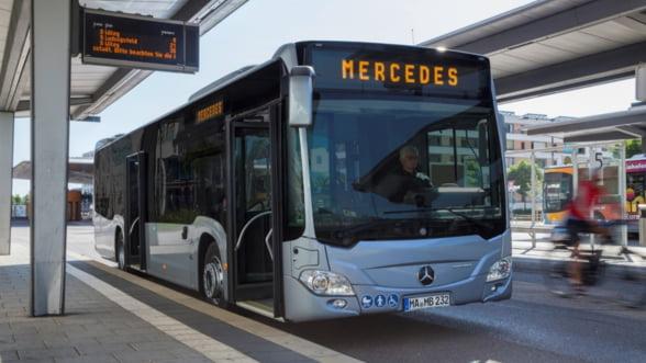 Cum arata cele 130 de autobuze hibrid care vor circula in Bucuresti din 2020