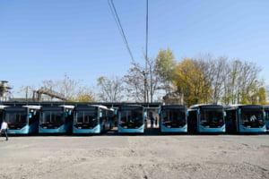Cum arata primele autobuze cumparate de Firea, care au ajuns la STB (Galerie foto)