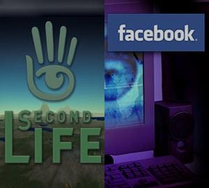 Cum arata viitorul: Facebook sau Second Life?
