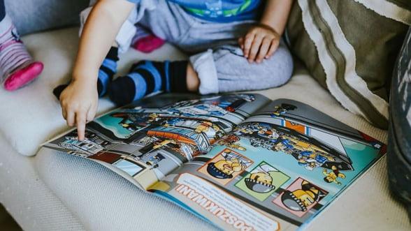 Cum ii dezvolti copilului tau interesul pentru lectura, de la cea mai frageda varsta?