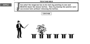Cum invata Apple utilizatorii sa foloseasca un mouse in 1988 (Video)