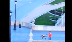Cum lupta Spania cu drone impotriva pandemiei de coronavirus (Video)