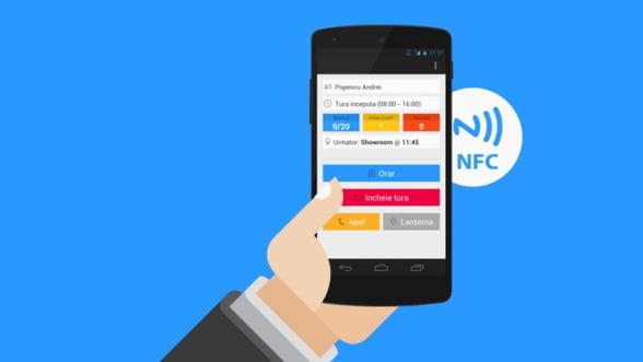 Cum monitorizezi online ce fac paznicii? A aparut aplicatia pentru control rond prin NFC