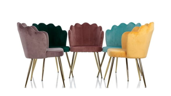Cum poți amenaja un birou modern, elegant și profesional cu ajutorul scaunelor din catifea?