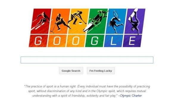 Cum sarbatoreste Google inceperea Jocurilor Olimpice de la Soci
