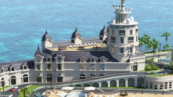 "Cum va arata ""Streets of Monaco"", orasul plutitor al miliardarilor Foto si Video"