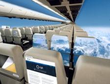 Cum vor arata avioanele fara geamuri
