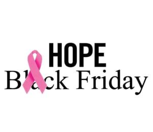 Cumpara online de Hope Friday, pe 26 octombrie, iar contravaloarea produselor va fi donata pentru cauze umanitare