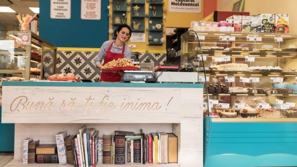 Cuptorul Moldovencei inaugureaza o cofetarie noua in Iasi si vizeaza afaceri de 2,5 milioane de euro in acest an