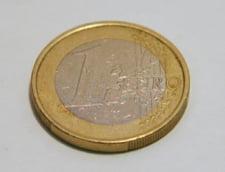 Curs valutar: Euro mai creste putin spre 4,6 lei