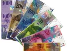 Curs valutar 21 ianuarie: Francul sare de 4,5 lei. Nou record pentru moneda elvetiana
