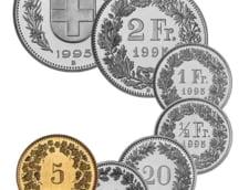 Curs valutar 26 ianuarie: Francul elvetian a scazut, dar ramane peste euro