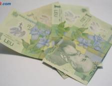 Curs valutar 28 august: Leul primeste un impuls
