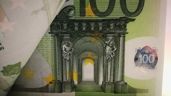 Cursul euro ar putea ajunge la 4,85 lei in semestrul II din 2020