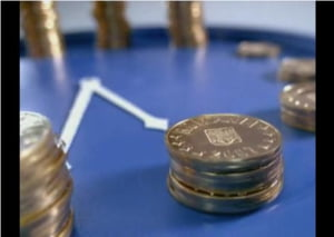 Cursul valutar a inchis la 4,35 lei/euro
