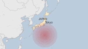 Cutremur de 7,8 grade in Japonia: S-au zguduit cladirile din Tokyo