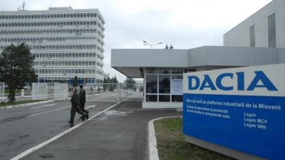 Dacia: Productia, oprita mai devreme decat era programat
