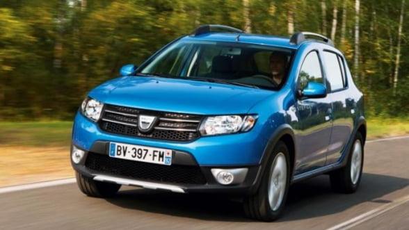 Dacia, cea mai mare crestere a inmatricularilor pe piata auto din Franta in T1