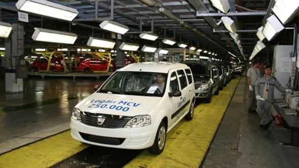 Dacia: vanzari record in 2011
