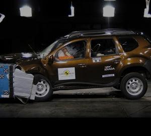 Dacia Duster, 3 stele la Euro NCAP