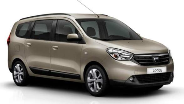 Dacia Lodgy, de miercuri in Romania: 9.500 de euro cu TVA