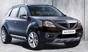 Dacia SUV, poze spion din Scandinavia