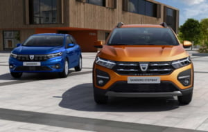 Dacia a anuntat preturile pentru noile Dacia Logan, Sandero si Sandero Stepway