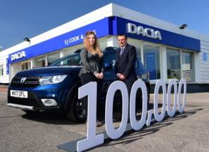 Dacia a atins o borna impresionanta in Marea Britanie: Cate masini a vandut