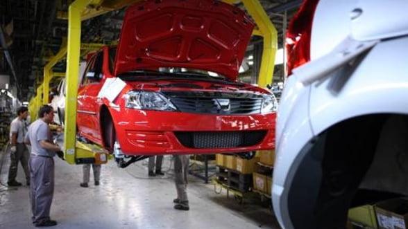 Dacia a exportat peste 2 milioane de autovehicule prin Centrul Logistic din Mioveni