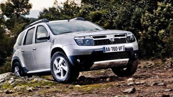 Dacia a inregistrat a treia mare crestere a vanzarilor pe piata franceza in primele opt luni