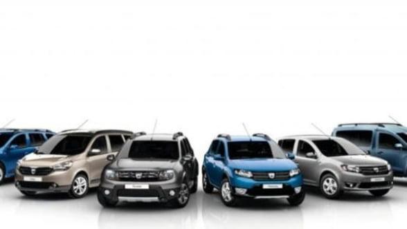 Dacia a inregistrat si in februarie cea mai mare crestere a vanzarilor din UE