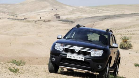 Dacia a lansat Duster Black Edition in Marea Britanie FOTO