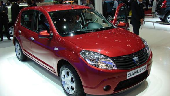 Dacia lanseaza patru modele noi. Preturile variaza intre 8.700 si 13.600 de euro