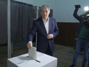 Dacian Ciolos: Dupa 2-3 ani de stat in strada, oamenii au inteles ca votul conteaza. E modul prin care se pot schimba lucrurile