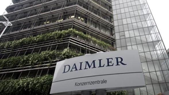 Daimler a castigat 2,2 miliarde de euro din vanzarea actiunilor la gigantul aerospatial EADS