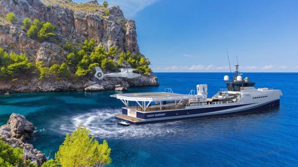 Damen Yacht Support 5009 - Un singur iaht, toate aventurile posibile!