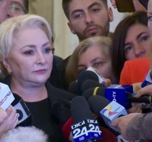Dancila: Au fost si colegi care au tradat. Imi doresc ca presedintele sa numeasca un premier cat mai repede, daca ar putea si azi