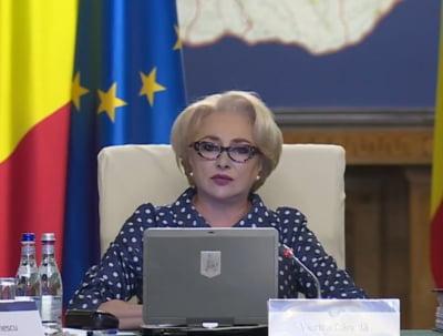 Dancila ia jumatate de Guvern cu ea la Varsovia, la primele consultari interguvernamentale cu Polonia