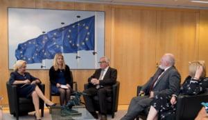Dancila spune ca a discutat la Bruxelles despre ascultarea a milioane de telefoane in Romania: Greu de crezut, dar real