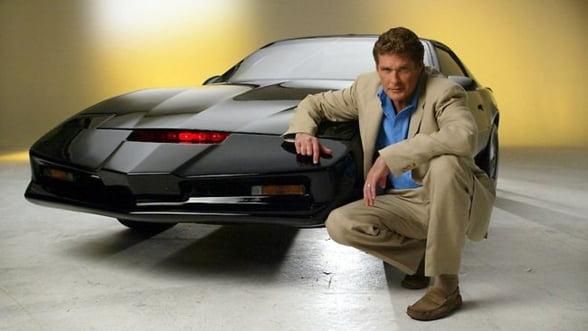 """David Hasselhoff si-a vandut masina inspirata din """"Knight Rider"""" la licitatie, in scopuri caritabile"""
