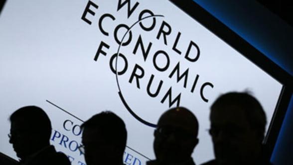 Davos 2013: Criza din Europa nu s-a incheiat, chiar daca euro s-a stabilizat