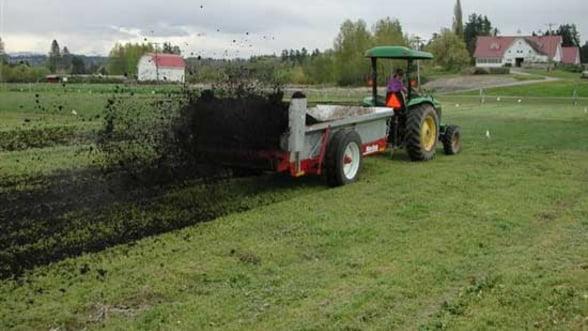 De ce este scazuta productivitatea agricola: Folosim de 5 ori mai putin ingrasamant