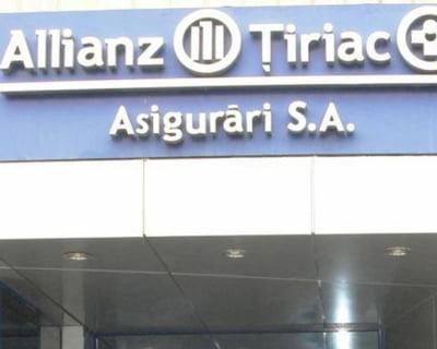 Afacerile Allianz-Tiriac Asigurari, in scadere, dar pe drumul cel bun